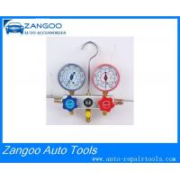 China R134A Manifold Air Conditioner Refrigerant Gauge Set / Freon Meter on sale