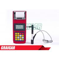 China Easy Use Hardness Tester Leeb160 With Printer 1250 Groups Memory on sale