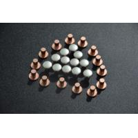 Buy cheap AgCu Silver Plated Electrical Contacts / Silver Plated Copper Contacts For Starters from Wholesalers