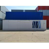 China Optional Size Open Storage Containers High Strength 40ft HQ Corner Casting on sale
