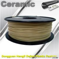 Wholesale Surface Light / Ceramic Texture 3D printer filament 1.75mm 1kg / Spool from china suppliers