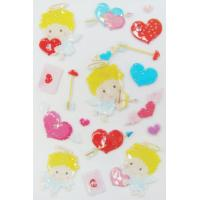 Wholesale Interesting Valentine Kawaii 3d Stickers , Love Heart Stickers For Promotional from china suppliers