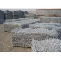 Buy cheap Galvanized gabion wire mesh 80*80mm gabion basket for wall fencing from wholesalers