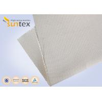 Wholesale 12H Satin High Silica Fabric Fiberglass Cloth 1200g Welding Protection Blanket Fire Barrier from china suppliers