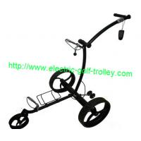 Wholesale Remote Stainless steel golf trolley wireless electric golf Trolley electrical golf caddy from china suppliers