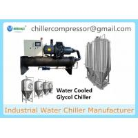 Wholesale Water Cooled Screw Chiller with Cooling Tower and Cooling Pumps for Milk Industry from china suppliers
