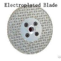 electroplated saw blade for marble and glass