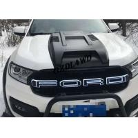 Wholesale Everest 2015+ Front Grille With LED Lights Black Grille For Ford Everest Accessories from china suppliers