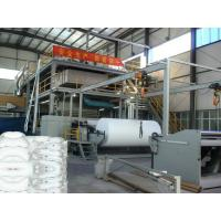 High Efficiency Non Woven Fabric Making Machine With SIEMENS PLC Control System