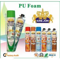 China Manual PU Foam Sealant , Home Spray Foam Insulation For Bonding / Soundproofing on sale