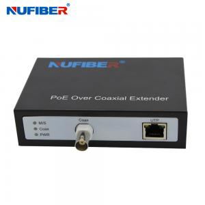 Wholesale NF-9801 EOC+POC+POE Converter IP Ethernet Over Coax Extender for cctv IP Cameras security systems from china suppliers