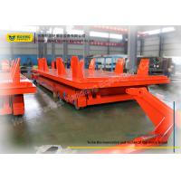 Wholesale Heavy Duty Flat Rail Transfer Cart Customized Parameter Improve Working Efficiency from china suppliers