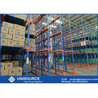 Wholesale Cold Rolled Steel Drive In Pallet Racking Heavy Duty Industrial Shelving Units from china suppliers