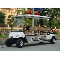 Wholesale Popular Outdoor 6 Seater Golf Cart With Aluminum Rim , 48V Battery Voltag from china suppliers
