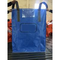 Wholesale Blue Sift - Proofing  Big Bag FIBC PP Woven Circular Jumbo Bags With Square Bottom from china suppliers