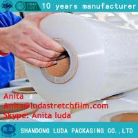 Wholesale Winding stretch film pallet stretch film pe stretch film with a special hand  product from china suppliers