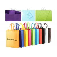 Wholesale Heavy Duty Non Woven Shopping Bag Environmental Protection Multi Colors Optional from china suppliers
