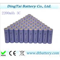 Wholesale 18650 2200mAH 3C battery for e-bike, self-balance scooter, power tools from china suppliers