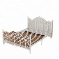 Wholesale Best seller iron bedroom furniture double metal single bed spring from china suppliers