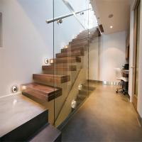 Wholesale Build Floating Stair with glass wall from china suppliers