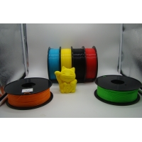 Wholesale 3D Printer PLA Color Changing Filament 1.75MM / 3.0MM White to Blue from china suppliers
