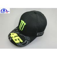 Wholesale Cotton Twill 6 Panles Sports Baseball Caps with LOGO Embroidery and PVC Embossed from china suppliers
