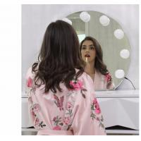 Wholesale Makeup Circle Vanity Mirror With Lights / Bluetooth Led Desktop Mirror  from china suppliers