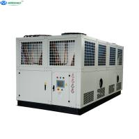 Wholesale Best Quality 50 tons 100 tons Air Cooled Industrial Screw Water Chiller from china suppliers