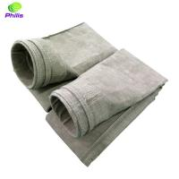 Wholesale high quality low price needle felt basalt dust filter bags and filter felt from china suppliers