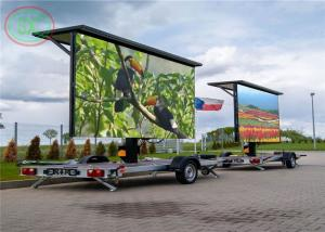 Wholesale Easy move Trailer LED Display Rgb 3 In1 P6 Car LED Sign 27778 Dots / Sqm from china suppliers