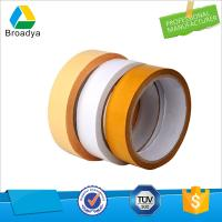 double sided silicone tissue tape, adhesive die cut circle double tape