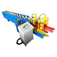 Wholesale 5.5kw Metal Roof Ridge Cap Roll Form Equipment PLC Delta Inverter Control from china suppliers