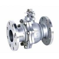 Wholesale 2-pc stainless steel ball flange valve ASME B16.34 full port wcb cf8m casting handle from china suppliers