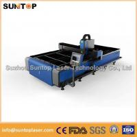 Buy cheap Stainless steel and mild steel CNC fiber laser cutting machine with laser power from wholesalers