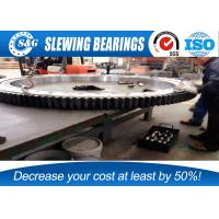 Wholesale High Precision Slew Drive Bearings Crane Inner Gear 836x1164x182mm from china suppliers