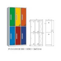 Wholesale 2016 New design modern Europe style six door steel locker FYD-G008,RAL color from china suppliers