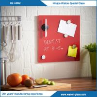 Buy cheap Magnetic Glass Board, Glass Dry Erase Board with Carton Box Package from wholesalers