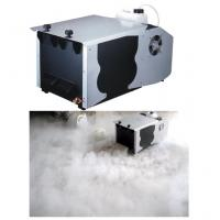 China 5.5L Oil Capacity Ground Fog Machine / 1200w Fog Machine DMX 512 And Remote Control on sale