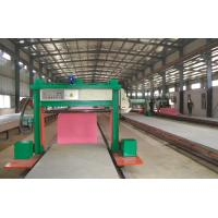 Wholesale 1300KG Rail Type Sponge Cutting Machine For Foam Block Long Sheet Slicing from china suppliers