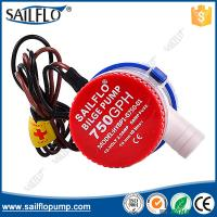 Wholesale Popular hot sales Sailflo 750GPH non- auto boat submersible bilge pumps from china suppliers