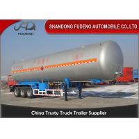Wholesale 30 Tons 59.4 or 59.7 Cubic Meters LNG / LPG Tank Trailer For Flammable Liquid Transport  Fuwa / BPW Axle from china suppliers