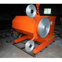 Wholesale High Precision Wire Saw Machine , Stones Cutting Diamond Wire Cutting Machine from china suppliers
