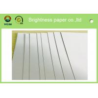 Wholesale two side white coated duplex board with white back CCWB for 250g-450g sheet size from china suppliers
