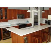 Wholesale Beige Cabinet Natural Granite Countertops Kitchen Tops Eased Edge from china suppliers