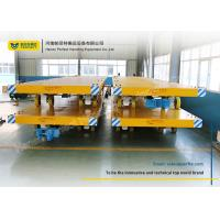 Wholesale Easy Operated Heavy Duty Plant Trailer / Material Handling Carts Towing Control from china suppliers