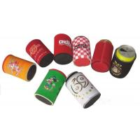 Wholesale Neoprene coca cola can pouches, Heat transfer colorful print, Neoprene Coke cooler sleeve, from china suppliers