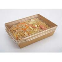 China takeaway food packaging container kraft food packaging box lunch box on sale