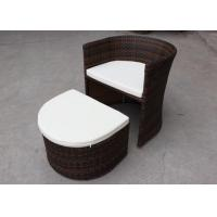 Wholesale Studio Outdoor Rattan Furniture Retractable Chair With Foot Pedal from china suppliers