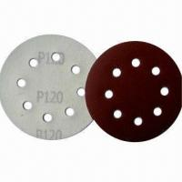 Wholesale Hook-and-loop Abrasive Discs with Yellow Front, Used for Auto Bodywork and Wooden Surfaces from china suppliers