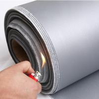 Wholesale high temperature resistant insulation colorful silicone rubber coated fiberglass cloth/fabric from china suppliers